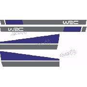 Adesivo Faixa Capo E Lateral Volkswagen Golf Wsc Golf16