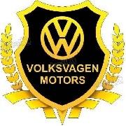Adesivo Volkswagen Motors Resinado Res09