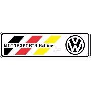 Adesivo Volkswagen Motorsports R-line Resinado Res11