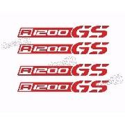Kit Adesivo Refletivo Friso Roda Moto Bmw R1200gs Fri037
