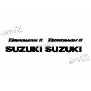 Kit Adesivo Suzuki Burgman 2011 Branca Bgm06