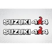 Kit Adesivo Faixa Lateral Suzuki Jimny 4x4 Jmny21