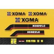 Kit Adesivos Xgma Xg 822cl