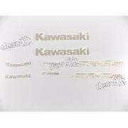 Kit Adesivos Kawasaki Er-6n Abs Preta 2013 Er6nd
