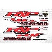 Kit Adesivo Jet Ski Sea Doo Rxp 155 Vermelho 2009 Sd15