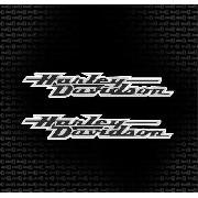 Kit Adesivo Tanque Harley Davidson Ha007