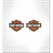 Kit Adesivo Tanque Harley Davidson Ha014