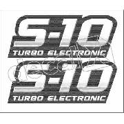 Adesivo Chevrolet S10 Turbo Electronic 2011 S10011