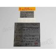 Kit Adesivo Etiquetas Motor Volkswagen 1989 Saveiro Mt8789