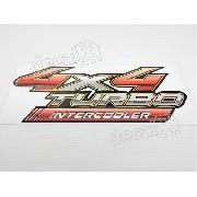 Adesivo Toyota Hilux 4x4 Turbo Intercooler 2012 Hlx09