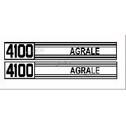 Kit Adesivos Trator Agrale 4100 15x96 Cms 4100