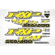Kit Adesivo Jet Ski Sea Doo Rxp 215 Amarelo 2009 Sd8