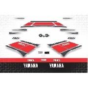 Kit Adesivo Yamaha R6 2012 Branca R612br