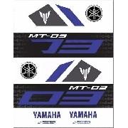 Kit Adesivos Yamaha Mt03 Mt-03 Mt 03 Branca Mt027