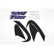 Kit Adesivo Yamaha Tdm 850 2001 Azul Tdm850 Yhtdm85015
