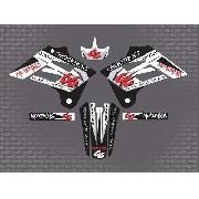Kit Adesivo Moto Cross Trilha Gas Gas 250 2005 0,60mm 3m 001