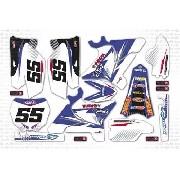 Kit Adesivo Moto Cross Trilha Yamaha Yz 250 2010 Mt013