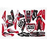 Kit Adesivo Moto Cross Trilha Yamaha Yz 250 450 2014 Mt022