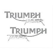 Kit Adesivo Triumph Tiger 800xc 800 Xc 2015 Preta Tg008