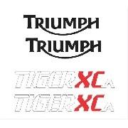 Kit Adesivo Triumph Tiger 800xca 800 Xca 2016 Verde Tg015
