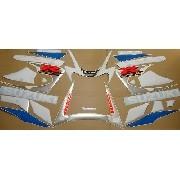 Kit Adesivos Suzuki Gsxr 1000 2001 Azul E Branca 10001az