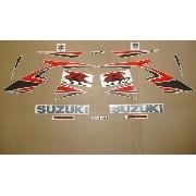 Kit Adesivo Suzuki Gsxr 1000 2007 Prata E Vermelha 10007pv