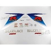 Kit Adesivos Suzuki Gsxr 750 2010 Branca 75010az