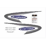 Kit Adesivos Suzuki Freewind 650 2001 Azul Fwd016