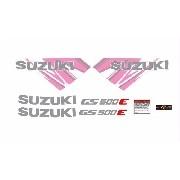 Kit Adesivos Suzuki Gs500e Gs 500e 1993 Gs002