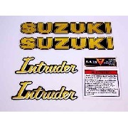 Kit Adesivos Suzuki Intruder 125 Resinado It001