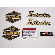 Kit Adesivos Suzuki Intruder 125 Resinado It002