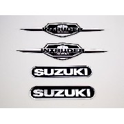 Kit Adesivos Suzuki Intruder 125 Resinado It003