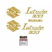 Kit Adesivos Suzuki Intruder 800 Preta It006