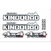 Kit Adesivos Suzuki Quadri Kingquad 750 Kq001