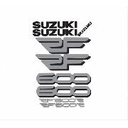 Kit Adesivos Suzuki Rf600 Rf 600 Azul Rf002