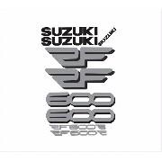 Kit Adesivos Suzuki Rf600 Rf 600 Vermelha Rf003