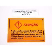 Adesivo Etiqueta Advertencia Troller 2001 Advt03