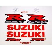 Kit Adesivos Suzuki Gsxr 750 Laranja Fluorescente Florlr01