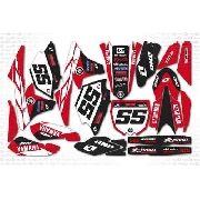 Adesivo Moto Cross Trilha Yamaha Yz 250 450 2014 0,20mm 22