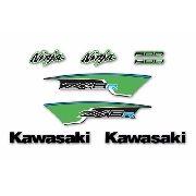 Kit Adesivos Kawasaki Ninja Zx-6r 600 2013 Zx6r2013