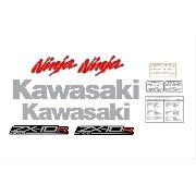 Kit Adesivos Kawasaki Ninja Zx-10r Abs 2011 Preta Zxpta04