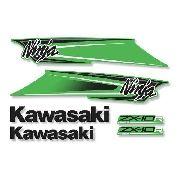 Kit Adesivos Kawasaki Ninja Zx-10r Abs 2011 Verde Zxvrd02