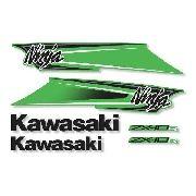 Kit Adesivos Kawasaki Ninja Zx-10r 2011 Verde Zxvrd03