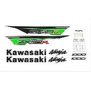 Kit Adesivos Kawasaki Zx-10r 2013 Verde Zxvrd05