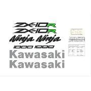 Kit Adesivos Kawasaki Ninja Zx-10r 2014 Branca Zxbnc02