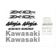 Kit Adesivos Kawasaki Ninja Zx-10r 2014 Abs Verde Zxvrd06