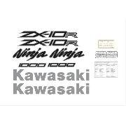 Kit Adesivos Kawasaki Ninja Zx-10r 2014 Verde Zxvrd07