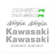 Kit Adesivos Kawasaki Ninja Zx-10r 2015 Preta Zxpta06