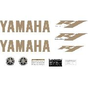 Kit Adesivos Yamaha R1 2009 Preta Americana R109ptm