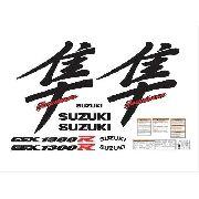 Kit Adesivos Suzuki Hayabusa Gsx 1300r 2003 Laranja 40 Anos